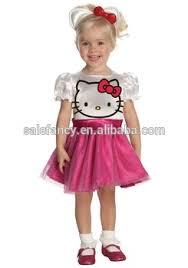 cheap girls fancy dress hello kitty dress children halloween