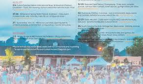 festival directory stay in sc your south carolina destination