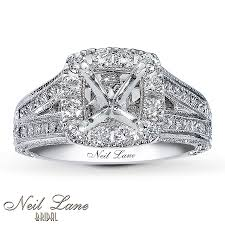 Kay Jewelers Wedding Rings For Her by Jared Neil Lane Diamond Band 1 1 8 Carats Tw 14k White Gold