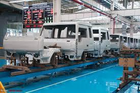 volvo truck manufacturing pictorial eicher u0027s truck u0026 bus factory pithampur team bhp