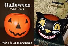 12 brilliant crafts to transform dollar store plastic pumpkin