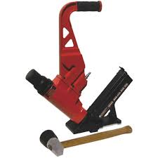 Best Flooring Nailer Performance Plus 2 In 1 15 1 2 Gauge Flooring Nailer Stapler Kit