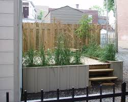 exterior design modern patio with t ten large planter box with