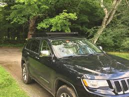 jeep grand cherokee wk2 2011 current slimline ii roof rack kit