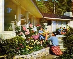 Theme Garden Ideas 1950 S Inspired Garden Design Tips On Creating A Vintage 50 S Garden