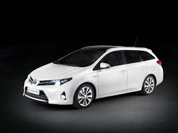 toyota auris description of the model photo gallery