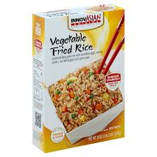 msa cuisine innovasian cuisine vegetable fried rice shop family size meals at heb