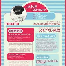 Print Resumes 50 Great Examples Of Creatively Designed Resumes