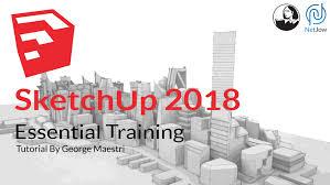 download google sketchup tutorial complete zip sketchup 2018 essential training free download tutorial