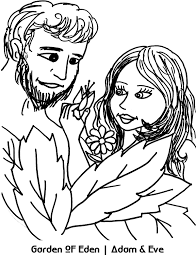 11 images of in the garden of adam and eve coloring pages adam