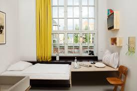 Sunflower Yellow Curtains The Michelberger Hotel By Werner Aisslinger Designtodesign