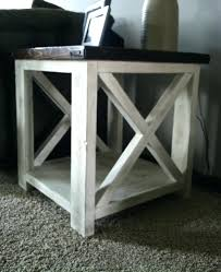 X Side Table Side Table Rustic Side Table Large Size Of Coffee Wood End