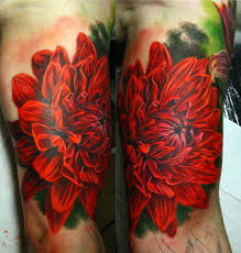 dahlia flower tattoos myths and meanings sooper mag