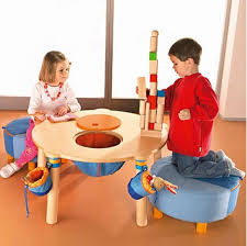 plays and chalk tables for children