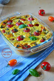 cuisine sans lactose clafoutis aux tomates cerises et basilic sans gluten sans lait