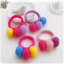 hair holders hot sale 2017 new 3 balls elastics hair holders bands gum