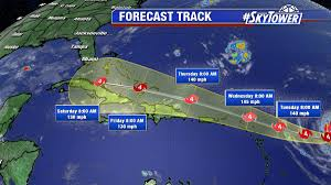 Map Of St Martin Florida Declares State Of Emergency As Category 4 Hurricane Irma