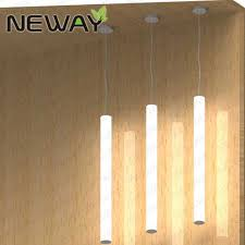 suspended linear light fixtures 24w 360 degree lighting suspended led linear tube light fixture