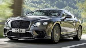 2018 bentley continental british luxury and muscles in one package