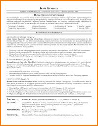 Best Sample Resumes Cerescoffee Co 8 Human Resources Generalist Resume Letter Signature Resume