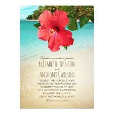 tropical themed wedding invitations wedding invitations announcements zazzle