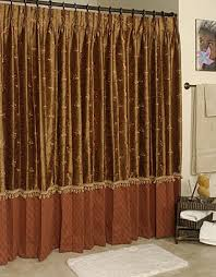Custom Shower Curtains Drape Shower Curtains Home Design Ideas And Pictures