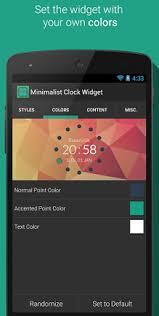 minimalist clock widget apk download for android