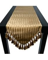 amazing deals on gold table runners
