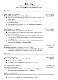 Resumes Com Samples by Example Financial Analyst Cv Http Resumesdesign Com Example