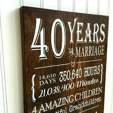 wedding anniversary gifts for s ruby wedding anniversary gifts for parents th gift ideas uk