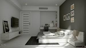chambre blanche et grise blanche grise