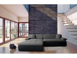 canapé d angle assise profonde canapé lit ub design aldo angle gauche tiroir noir anthracite pas