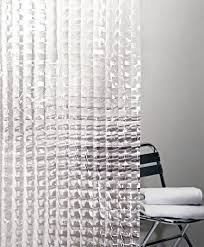 Shower Curtain Clear Cubic Clear Shower Curtain I Like The Clean Modern Look Of This