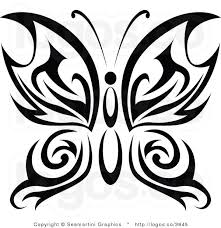 tribal butterfly designs places to visit