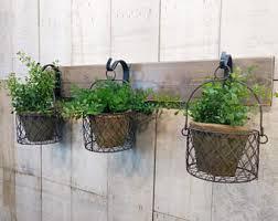 herb planter etsy