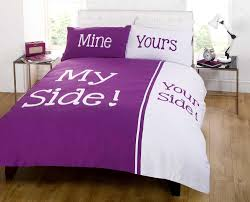 Space Bed Set My Space Your Space Quilt Duvet Cover 2 Pillowcase Bedding Bed