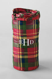 monogrammed plaid throw cool christmas gift party time u0026 gift