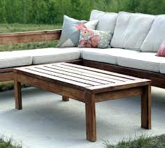 outdoor coffee table height table rustic outdoor coffee table