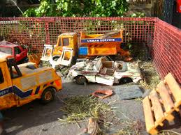 car junkyard diorama the world u0027s most recently posted photos of forklift and scrapyard
