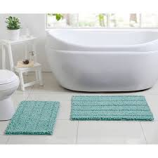 Aqua Bathroom Rugs Better Homes And Gardens Bath Walmart