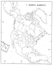 North America Map Blank by Coloring Coloring Map Of North America