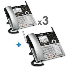 4 line small business phone system vtech multi line business and