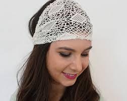 lace headband lace headband etsy