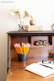 Small Black Secretary Desk by Painted Secretary Desk In Fusion Mineral Paint U0027s Coal Black
