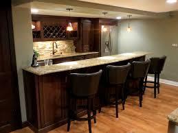 Basement Ideas For Small Basements Gorgeous Small Basement Bar Basements Ideas