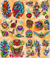 tattoo beauty tattoo flash