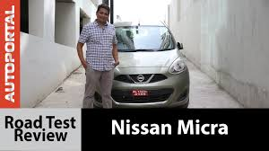 nissan micra diesel on road price nissan micra test drive review autoportal youtube