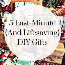 5 last minute diy gifts the box