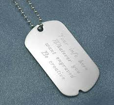 Photo Engraved Dog Tags 28 Picture Engraved Dog Tags Medical Alert Dog Tag 9ct Gold