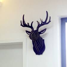 Diy Deer Christmas Decorations by Wall Craft Picture More Detailed Picture About Nodic Deer Head